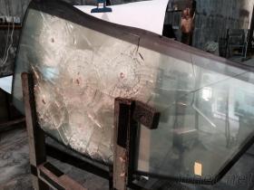 耐圧防爆ガラス