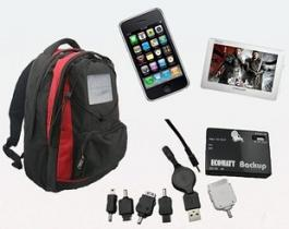 Solar Backpacks Knapsack/Travelling Bag