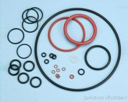 De O-ringen van het rubber/van het Silicone