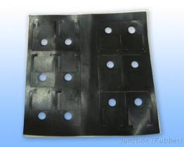 Uitgedreven rubber-1