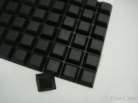 Rubber voet-10 van het silicone