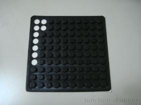 Rubber voet-7 van het silicone