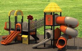다채로운 옥외 운동장 장비 또는 학교 운동장 장비