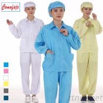 ESD het Schone Cleanroom van de Kostuums van Kleren Antistatische Kostuum van Kleren