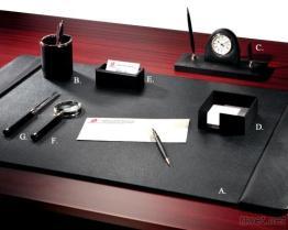 최고 가죽 7 - PC 책상 세트