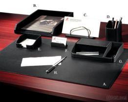 절묘한 가죽 8 - PC 책상 세트