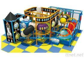 Plastic Slide-Indoor Soft Playground