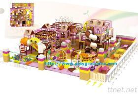 Children'S Candy Castle-Indoor Soft Playground