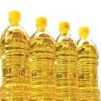 精製された大豆油