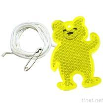 Teddybär-Sicherheits-Reflektor