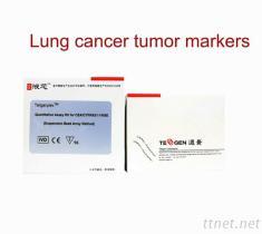 Lungenkrebs-Tumor-Markierungen