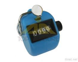 Hand-u. Schreibtisch-Tally-Kostenzähler-Blau