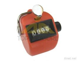 Hand & Desk Tally Counter Red