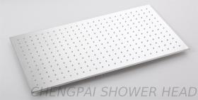 Regenduschekopf stellt stainlees Stahl 50x100 ein