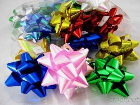 祝祭の装飾のためのPPの星の弓