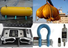Water Bags For Vessel Crane Test