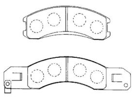 MD4011M Brake Pads
