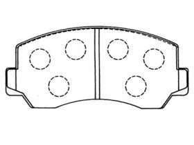 MD6006 Brake Pads