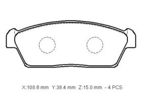 MD9023 Brake Pads