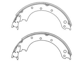 MS0001 Brake Shoes