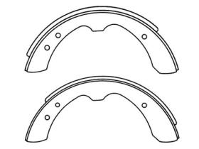 MS1103 Brake Shoes