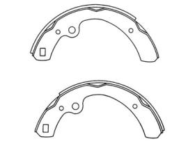 MS1119 Brake Shoes