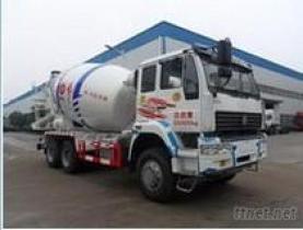 De Vrachtwagen van de Concrete Mixer van Steyr van Sinotruck