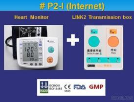 Telecare Blutdruck-und Herz-Zustands-Monitor