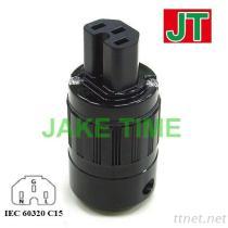 Audio connettore di potere C15 di IEC 60320 del grado