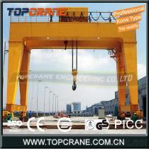 80ton/50ton Double Girder Gantry Crane