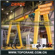 Workshop Light 10Ton Double Girder Gantry Crane