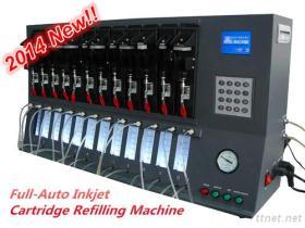 Cartucho Agulha-Livre do Inkjet que reenche a máquina