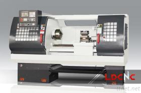 High Quality CK6142 Light Duty CNC Lathe Machine, Swing Diameter Over Carriage 230Mm