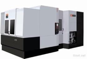 Ideale Auto die CNC van het Materiaal Horizontaal Machinaal bewerkend Centrum machinaal bewerken