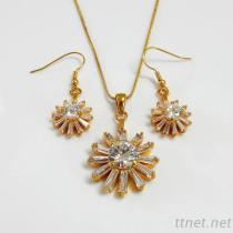 Fashion Jewelry CZ Set