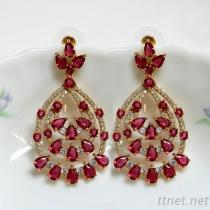 Wedding Bridal Gorgeous Dangle Earrings
