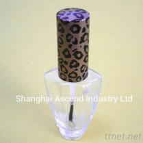 De Fles van het Nagellak van het glas met GLB en Borstel in China wordt gemaakt dat