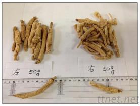 Niedrige Schädlingsbekämpfungsmittel-Ginseng-Wurzel