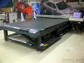 UVled Flachbetttintenstrahl-Drucker des großen Format-