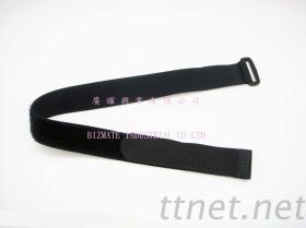 Velcro Fastener With Ring, Velcro Strap, Hook And Loop Fastener