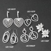 925 Fashion Sterling Silver Earrings