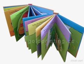 Печатание книг детей Pop-Up, книжное производство картона, записывает печатание в Кита