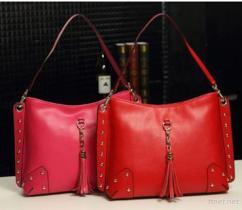 PU Leather Ladies Handbags, woman handbag (7673)