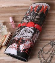 Magazine Printing Ladies Purse, Magazine Clutch Bag ( H54)