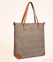 Jute Tote Bag,ladies bags, woman bag (L38 )