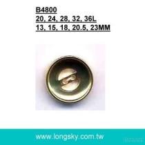 B4800 의류 아BS 도금 플라스틱 단추
