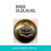B4826 군 훈장 외투 단추
