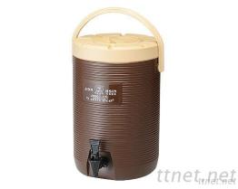 (17L-Brown) PE Wide Line Insulated Beverage Dispenser