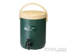 (15L-Green) PE Wide Line Insulated Beverage Dispenser