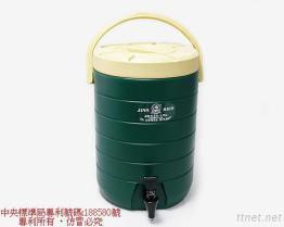 (17L-Green) Линия изолированный распределитель PE тонкая напитка
